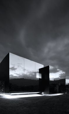 #architecture #minimalism #photography - Mirror Houses in Bolzano, 2014 | Peter Pichler Architecture