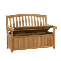SEI Storage Bench, Light brown by SEI. $439.00