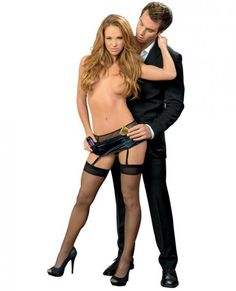 This unique toolbelt gives you the freedom to use your hands. Made from fishnet and stretch satin material this toolbelt is perfect for holding everything from condoms to lube. Includes hose from Escante. Black. One size. Sizes 2 to 14. Waist 24 inches to 32 inches. Hips 34 inches to 40 inches. Weighing between 90 pounds to 160 pounds.