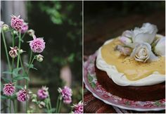... marvelous macadamia nut, banana & lemon curd cake from petite kitchen