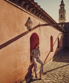 autumn's sun: karmen pedaru by guy aroch for harper's bazaar spain august 2016 | visual optimism; fashion editorials, shows, campaigns & more!