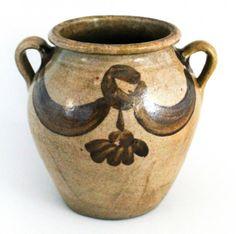 Fine stoneware storage jar : Lot 53