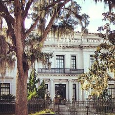 Savannah, Georgia ~ exquisite architecture, amazing history, great ghost stories and slathered in southern charm!