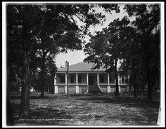 Beauvoir,home of Jefferson Davis near Biloxi,Miss. by HistoricalFindings