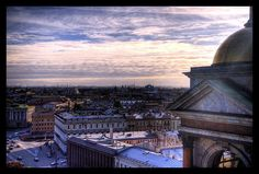 St. Isaac's Cathedral roof view