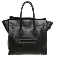 This is the BEST investment (bag) I ever bought! The only one....Celine Black Leather Medium Luggage Tote