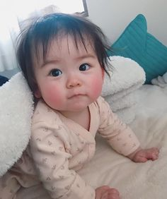 kawaii Bebe Mamang 可愛い ღ Half Asian Babies, Cute Asian Babies, Korean Babies, Asian Kids, Cute Babies, Cute Little Baby, Little Babies, Baby Love, Baby Kids