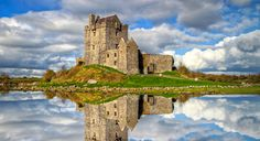 Dunguaire Castle | This Galway Bay stronghold is said to be the most-photographed castle in Ireland. It's no wonder, considering the massive tower and defense walls have been fully-restored to their 1520s glory.