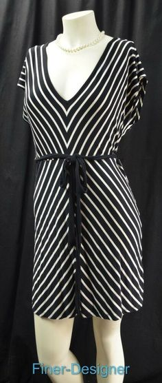 0f392a1e06b5c (Advertisement)eBay- Motherhood Maternity t knit dress chic stretch striped  light mini dress