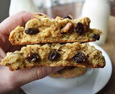 Levain Bakery Oatmeal Raisin Cookies | modern honey