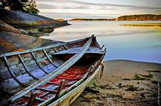 A Boat from the Ages in Korppoo, Finland.  photo by Rob Orthen flickr