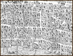 Fantastic map of early modern London #maps #history #london http://mapoflondon.uvic.ca/map.htm?section=C5&location=STJA4