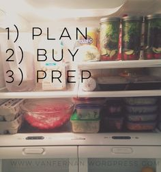 21 Day Fix Meal Plan, Grocery List and Food Prep Check-List