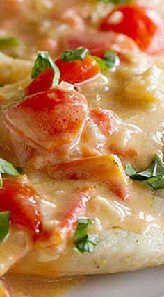 Chicken with Tomato Parmesan Sauce - Taste and Tell Turkey Recipes, Meat Recipes, Chicken Recipes, Dinner Recipes, Cooking Recipes, Healthy Recipes, Healthy Dinners, Chicken Dishes For Dinner, Appetizers