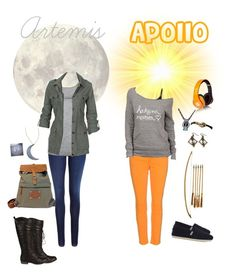 Hunters and Daughter of Apollo Percy Jackson Outfits, Percy Jackson Fandom, Teen Girl Outfits, Outfits For Teens, Apollo Cabin, Pretty Outfits, Cute Outfits, Amanda Wakeley, Fandom Fashion
