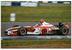 jacques villeneuve 1999 | Jacques Villeneuve BAR Supertec 001 F1. British GP Test Silverstone ...
