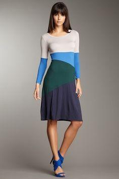 Color Blocked Dress