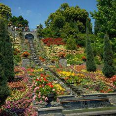 Mainau, Germany - Island of Flowers  (Visited Summer 1998)
