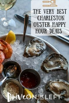 Want to find the best oyster happy hour deals on your next visit to Charleston, SC? Here is our guide to the best restaurants for great shellfish at a fraction of the regular cost!: