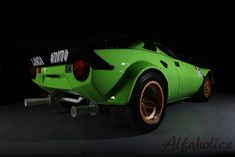 Full Group 4 restoration of period competition Lancia Stratos completed including race preparation to modern FIA legal standards. Pretty Cars, Rally Car, Amazing Cars, Alfa Romeo, Fast Cars, Sport Cars, Restoration, Automobile, Trucks