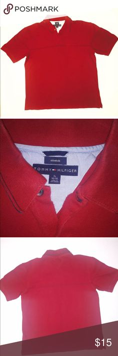 Tommmy Hilfiger Stretch Fit Size XL Classic Tommy polo , soft ,stretch fit  Gently worn stylish shirt Tommy Hilfiger Shirts Polos