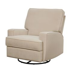 Swivel Glider Chair Baby Child Nursery Recliner Furniture Relax Gliding Seat in Baby, Nursery Furniture, Rockers, Gliders Glider Recliner Chair, Glider And Ottoman, Swivel Glider, Nursery Recliner, Nursery Rocker, Swivel Chair, Chair Cushions, Large Chair, Relax