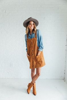 outfit ideas. My Fav Overall Dresses, Dungarees and jumpers.
