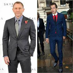 How a slim suit should fit- short jacket versus long jacket ...