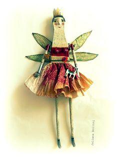 barco de papel: Juliana Bollini fairy