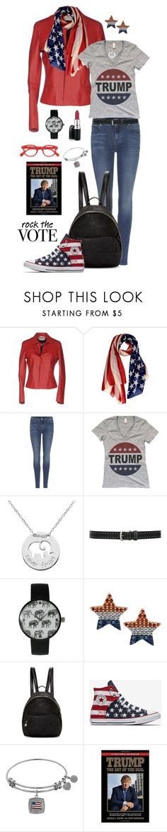 """Deplorable 1 - Rock the Vote"" by michela68 ❤ liked on Polyvore featuring ..,MERCI, 7 For All Mankind, Prime Art & Jewel, M&Co, Olivia Pratt, STELLA McCARTNEY, See Concept, rockthevote, TrumpForPresident and trump2016"