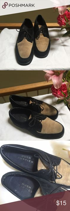 Women's Casual Loafers -Hush Puppies • Size 6 • Classic Mixed Media Hush Puppies that provides cushioning and support right where you need it. Hush Puppies Shoes Flats & Loafers