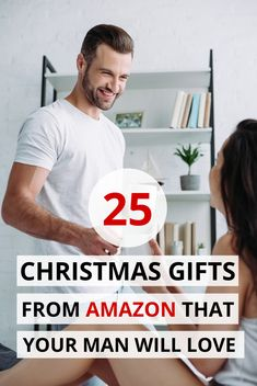 Are you looking for Christmas gifts for him? We've got you covered. Here are 25 Christmas gifts for guys and Christmas gifts for men. Includes Christmas presents for him, Christmas presents for guys. Christmas Presents For Husband, Amazon Christmas Gifts, Inexpensive Christmas Gifts, Creative Christmas Gifts, Diy Christmas Gifts For Family, Thoughtful Christmas Gifts, Presents For Boyfriend, Christmas Gifts For Boyfriend, Holiday Gifts