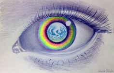 The world in her eyes