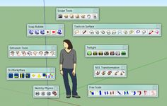 ▶▶▶ Most popular SketchUp plugins // http://www.alexschreyer.net/cad/most-popular-sketchup-plugins-2010-update/