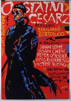 The Last Emperor, 1987 Polish Title: Ostatni cesarz Author: Waldemar Swierzy, 1989 Polish Movie Posters, Best Movie Posters, Vintage Movies, Vintage Posters, John Lone, Joan Chen, Bernardo Bertolucci, Last Emperor, Punk