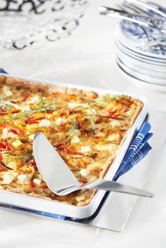 Broileripiirakka | Maku Aquafaba, Hawaiian Pizza, Vegetable Pizza, Oreo, Macaroni And Cheese, Good Food, Food And Drink, Favorite Recipes, Cooking