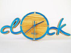 Clock uClock wood carving. Деревянные часы uClock из массива дуба. Пересылаем по всему миру.  International shipping, just write us on our web-site. http://iwood.ltd.ua/portfolio-detailsc1.html