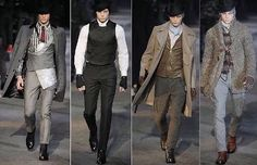 Men's 19th Century Fashion