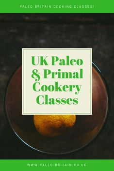 paleo cooking classe