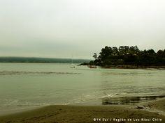 Playa Los Molinos. Valdivia, XIV Región de Los Ríos, Chile.