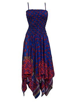 Womens Dress Blue Bodice Spaghetti Strap Asymmetrical Mid... https://www.amazon.com/dp/B01L91KE86/ref=cm_sw_r_pi_dp_x_e4ruybCQ8ZTKB #dresses #bohochic #bohemianstyle #strapdreeses #fallstyle #christmassale