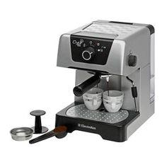 Cafeteira Expresso Electrolux Chef Crema Silver EM400 - 15 Bar
