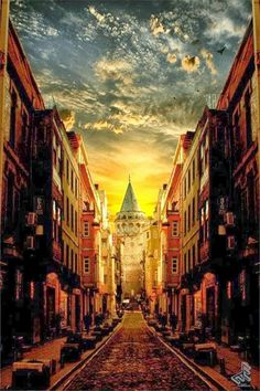 Galata Tower, Istanbul >>> This is so beautiful. I was able to stay right down the street from here a couple years ago. A great area!