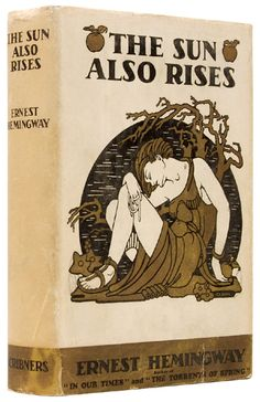 First edition of The Sun Also Rises by Ernest Hemingway (1926).
