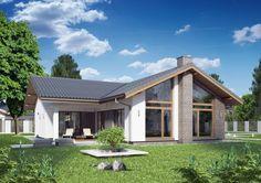 Bungalow, Home Design Plans, Future House, House Plans, New Homes, 1, House Design, Cabin, Windows