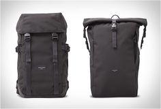 MOCHILA FEITA À MÃO - CRAFTED GOODS  Nossa mais recente mochila vem de uma nova marca chamada Crafted Goods. Estas mochilas minimalistas são muito robustas, elas são construídas para durar e são feitas com os tecidos mais resistentes.