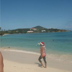 St. Thomas  Sapphire Beach Christmas time...   Book your DREAM Holiday Cruise Away!