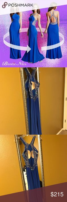 prom/formal dress from davids bridal only worn one time in great condition. David's Bridal Dresses Prom