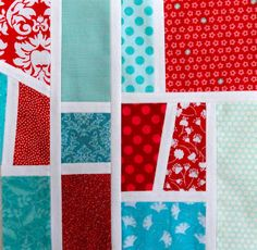 Quilt Matters, Mod Mosaic tutorial from Oh Fransson!