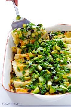 Breakfast Enchiladas | Gimme Some Oven